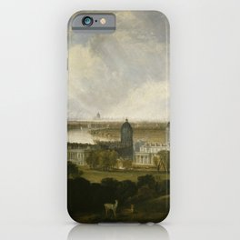"J.M.W. Turner ""London from Greenwich Park"" iPhone Case"