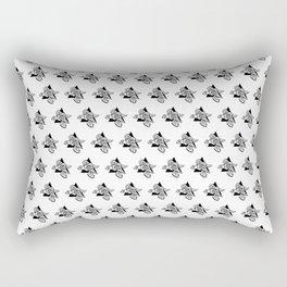 Doodle Pattern No.34 Rectangular Pillow
