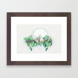 Ivy Framed Art Print