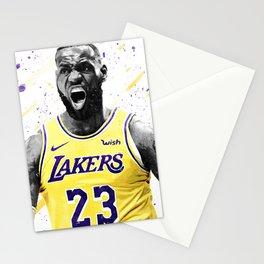 Lebron Basketball Print Basketball Wall Art Basketball Poster Basketball Wall Decor Poster Stationery Cards