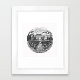 Circular Fisheye #2 Framed Art Print