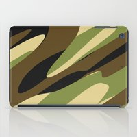 camo iPad Cases featuring Camo by SShaw Photographic