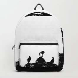 Birds on the shore Backpack