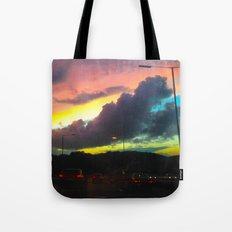 Oceanic Skies Tote Bag
