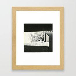 Cinematic man Framed Art Print