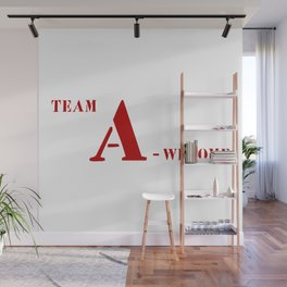Team A awesome Wall Mural