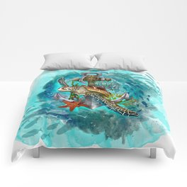 Turtle and Sea Comforters