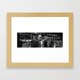The Maker Framed Art Print