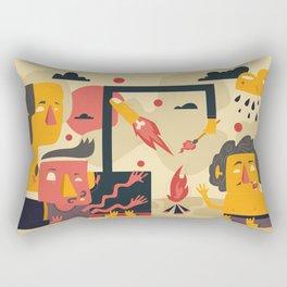 funtastic four Rectangular Pillow