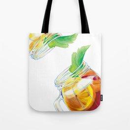 Summer Cocktail Tote Bag