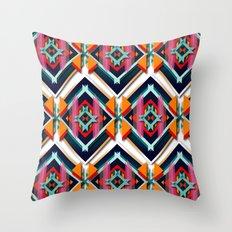Hexagonic pattern Throw Pillow