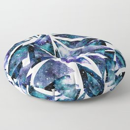 Shattered Space Floor Pillow
