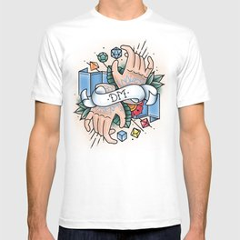 Dungeon Master - Vintage D&D Tattoos T-shirt