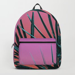 Pink Palm Life - Miami Vaporwave Backpack