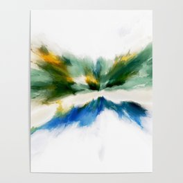 Serenity Abstract Poster