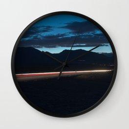 Fissure Wall Clock