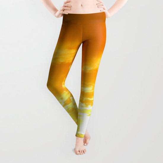 Μy Νeighborhood Sunset Leggings