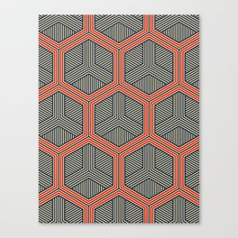 Hexagon No. 1 Canvas Print