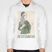 russian Hoodies featuring Russian Revolution by Sara Elan Donati