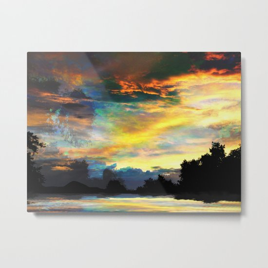 It is Only the End Metal Print