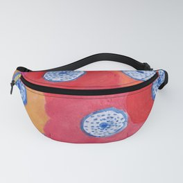 Hippy flowers watercolor Fanny Pack