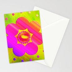 Mandala Pink Daisy Stationery Cards