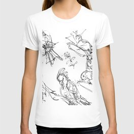 Birds at the Hamlins           by Kay Lipton T-shirt