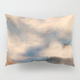 Clouds and Mountains Pillow Sham