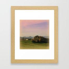 Landscape view Framed Art Print