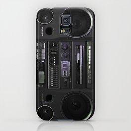 Boombox iPhone Case