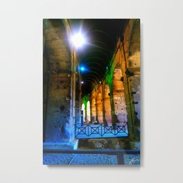 Running the Tunnels Metal Print
