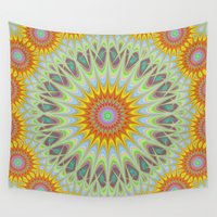 sun Wall Tapestries featuring Sun by David Zydd