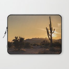 Saguaro Sunset Salute Laptop Sleeve