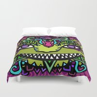 cheshire Duvet Covers featuring CHESHIRE by AZZURRO ARTS