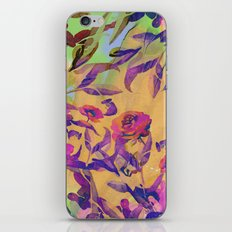 Bright Floral iPhone & iPod Skin