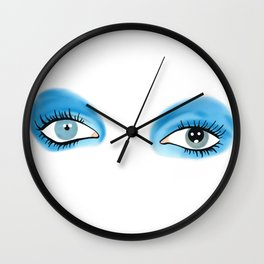 Life on Mars - Eyes Wall Clock