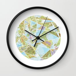 Its a Mixed Up World Wall Clock