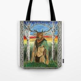 Herne the Hunter Tote Bag