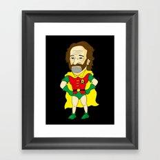 Robin as Robin Framed Art Print
