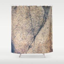 Secret Woman Emerging, Beach Stone Shower Curtain