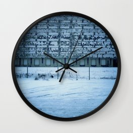 Warehouse Wall, Detroit. Wall Clock