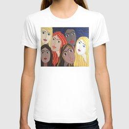 Women portrait T-shirt