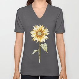 Sunflower 01 Unisex V-Neck
