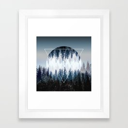 Woods 4 Framed Art Print