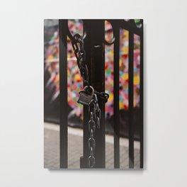 Locked Heart II Metal Print