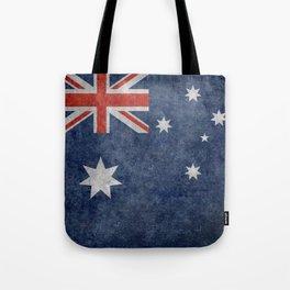 The National flag of Australia, Vintage version Tote Bag