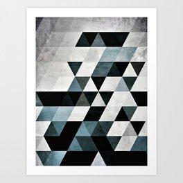 Pyly Pyrtryt Art Print