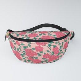 Peony flower pattern Fanny Pack