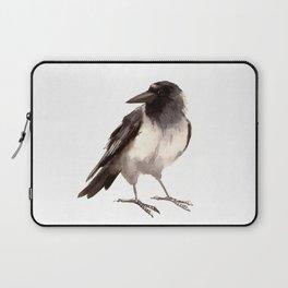 Crow decor, hooded crow art Laptop Sleeve
