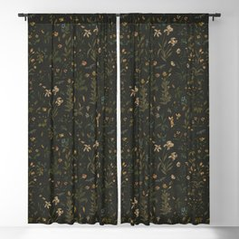 Old World Florals Blackout Curtain